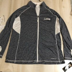 Seattle Seahawks zip pullover - NWT